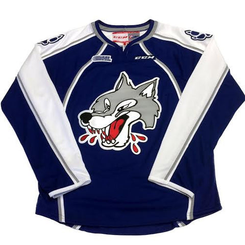 WOLVES YOUTH BLUE JERSEY