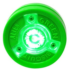 "GREEN BISCUIT ""ALIEN"" PUCK"