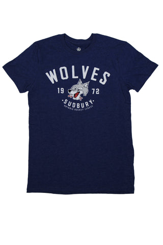 WOLVES CC NAVY T-SHIRT 2016-2017