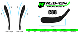 RAVEN FLEX 30 YTH HOCKEY STICK