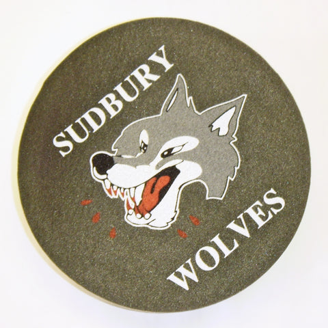 SUDBURY WOLVES FOAM PUCK HAT