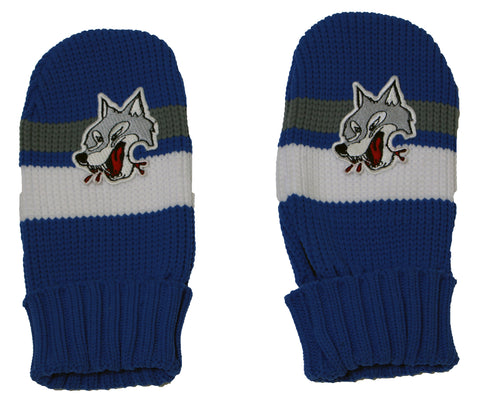 GONGSHOW SUBDURY WOLVES MITTENS