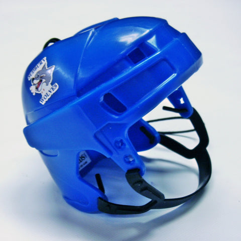 SUDBURY WOLVES BLUE MINI-HELMET