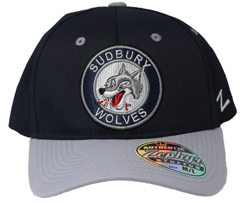 "SUDBURY WOLVES ""ZEPHYR"" STRETCH FIT"