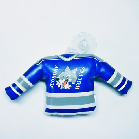 SUDBURY WOLVES MINI JERSEY