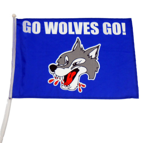 WOLVES ULTIMATE FAN FLAG
