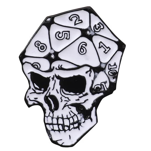 Dice Head Pin