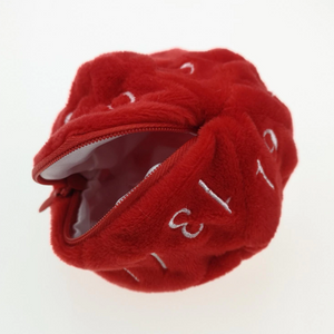 Plush D20 Dice Bag