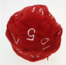 Load image into Gallery viewer, Plush D20 Dice Bag
