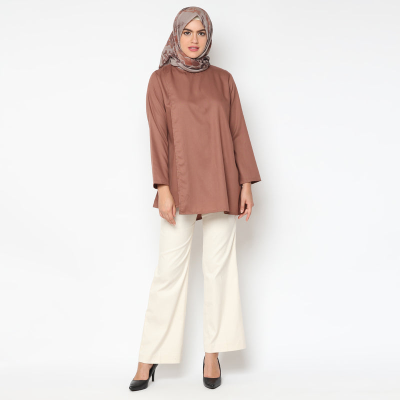 Sania Brown Organic Tunik