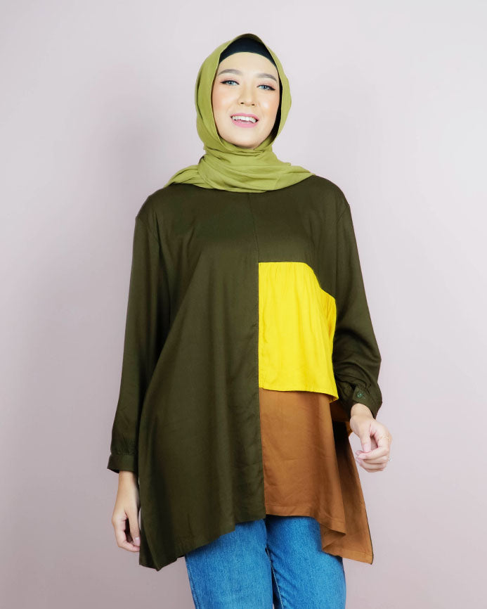 Gracia Green Tunik