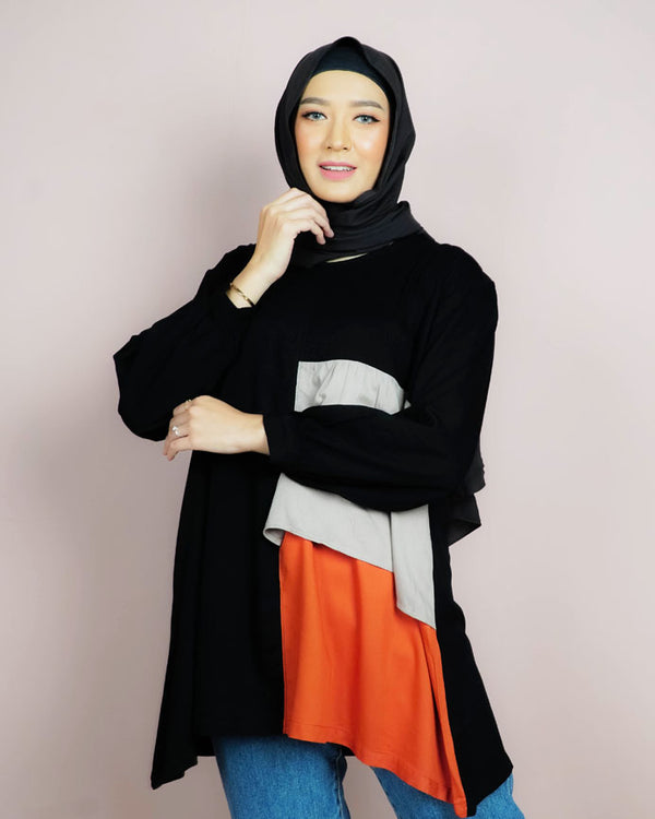 Gracia Black Tunik