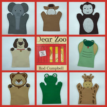 Load image into Gallery viewer, Hand Puppets - Dear Zoo Set
