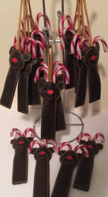 Load image into Gallery viewer, Treat Bag - Reindeer Candy Cane Holder
