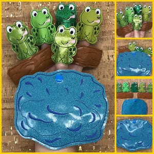 Finger Puppets - 5 Little Speckled Frogs