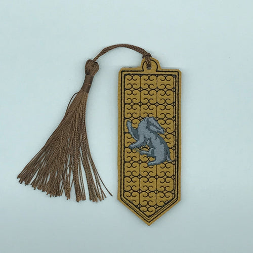 Bookmark - HP Yellow House Flag
