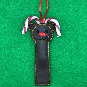 Treat Bag - Reindeer Candy Cane Holder