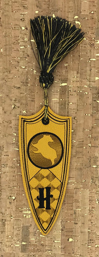 Bookmark - Muggle Yellow Crest