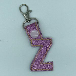 Key/Bag Tag - Letter Z