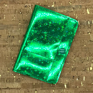 USB Case - Green Stars