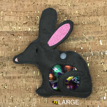 Load image into Gallery viewer, Treat Bag - Easter Bilby - Large Dark Grey