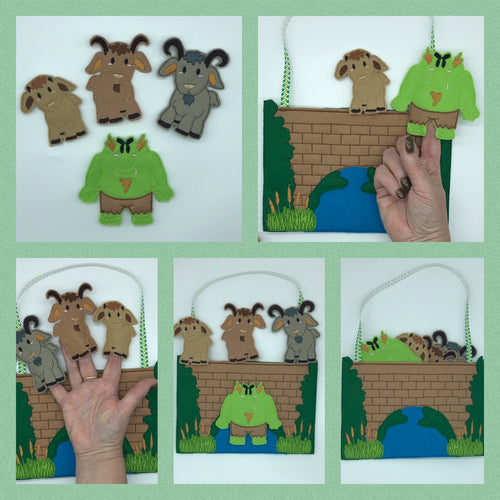 Finger Puppets - Three Billy Goats Gruff