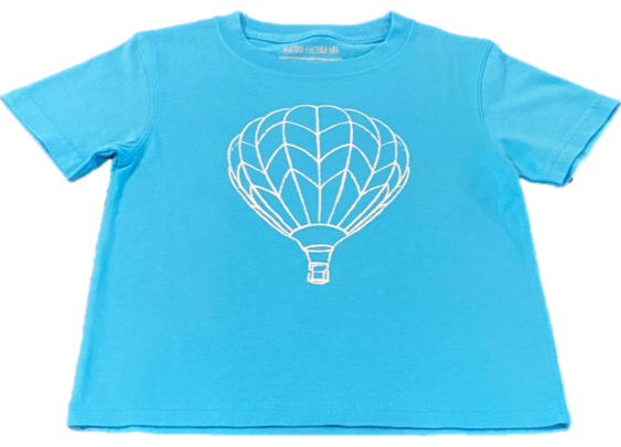 Short-Sleeve Hot Air Balloon T-Shirt