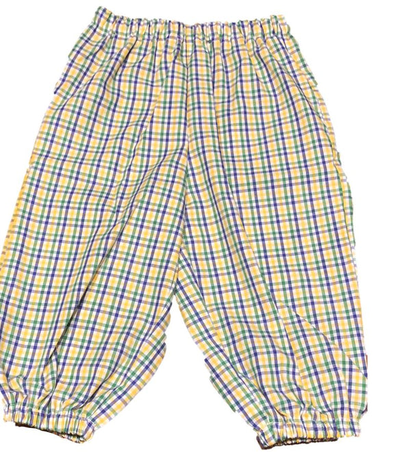 Mardi Gras Boys Bubble Pants