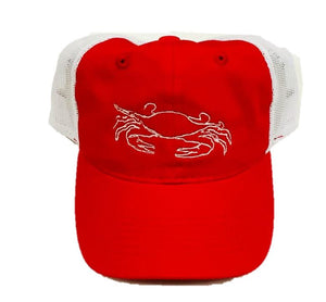 Red Crab Trucker Hat