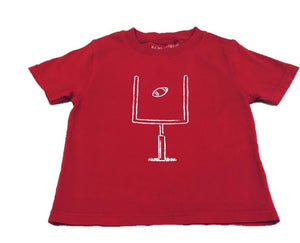 Short-Sleeve Crimson Field Goal T-Shirt