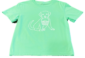Short-Sleeve Lab Easter Pup