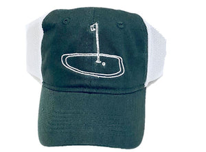 Green Golf Trucker Hat