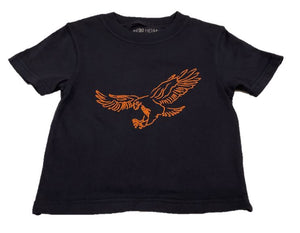 Short-Sleeve Navy Eagle T-Shirt