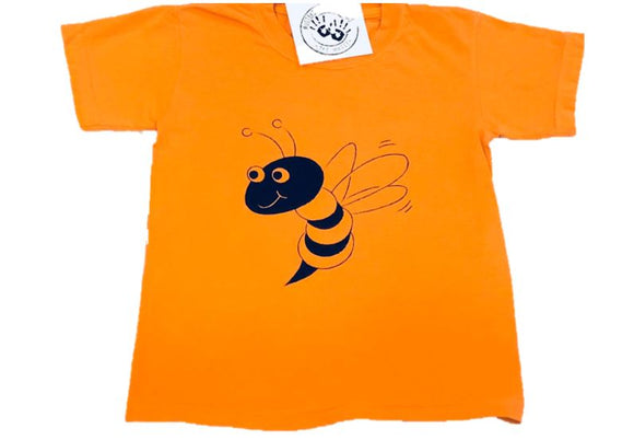 Short-Sleeve Orange/Black Yellow Jacket T-Shirt