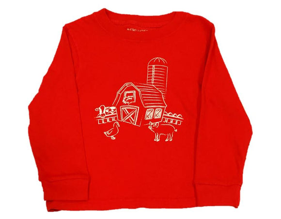 Long-Sleeve Red Barn T-Shirt