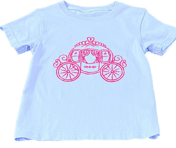 Short-Sleeve Lt Purple Carriage T-Shirt