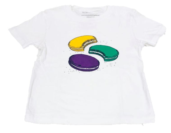 Short-Sleeve White Moon Pie T-Shirt