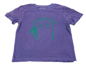 Short-Sleeve Purple Mask T-Shirt