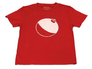 Short-Sleeve Red Bobber T-Shirt