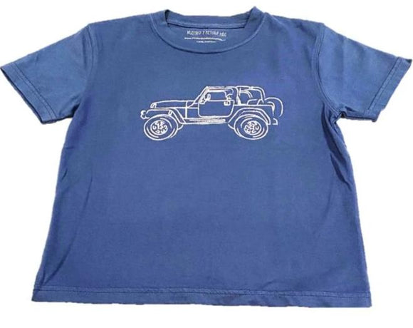 Short-Sleeve Denim Jeep T-Shirt
