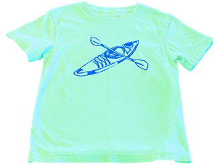 Short-Sleeve Island Green Kayak T-Shirt