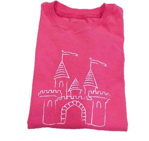 Short-Sleeve Pink Castle T-Shirt