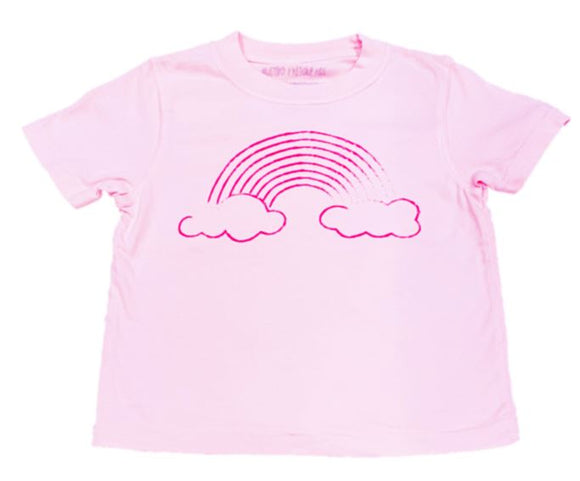 Short-Sleeve Pink Rainbow T-Shirt