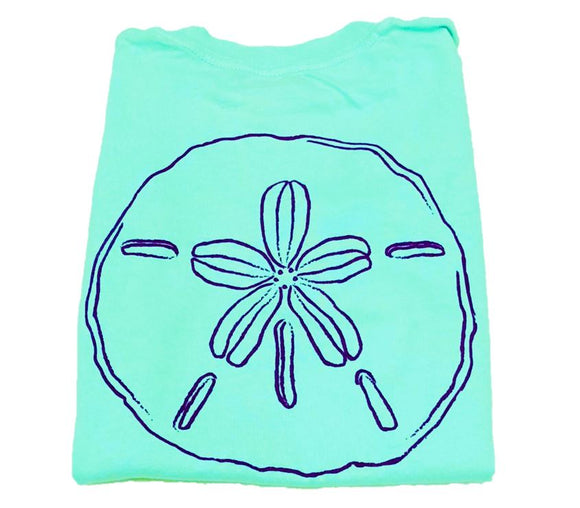 Short-Sleeve Island Green Sand Dollar T-Shirt