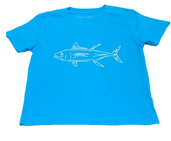 Short-Sleeve Lagoon Blue Tuna T-Shirt