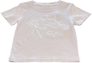 Short-Sleeve Light Purple Wand T-Shirt