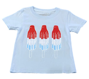 Short-Sleeve Light Blue Bomb Pop T-Shirt