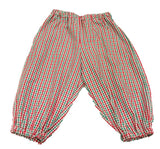 Red/Green Gingham Bubble Pants