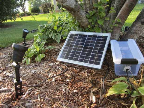 High Power Solar Lighting System