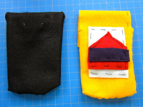 Conductive Sewing Phone Case